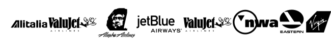 Airline Logos Past